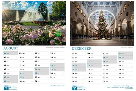 2021er Bad Kissingen Kalender